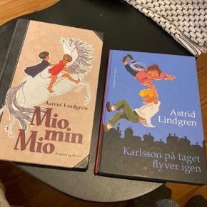 Rigtig gode børnebøger af Astrid Lindgren.  Fejler intet  Prisen er pr. stk