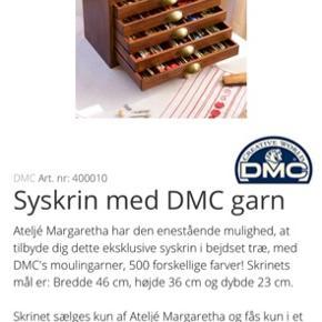 Syskrin fra DMC uden garn.
