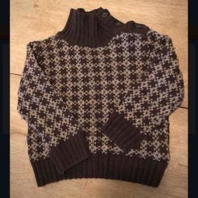 Fed brun retro sweater i bedste 70er stil.  I rest my case😊
