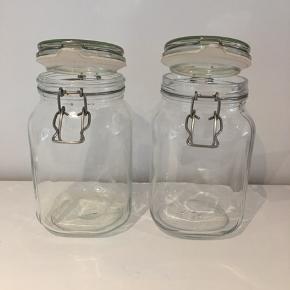 Opbevaringsglas H: 21 cm