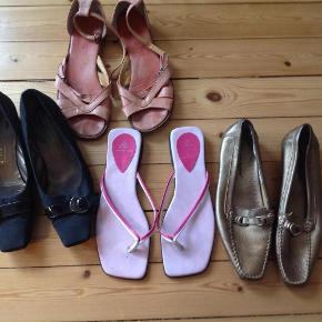 Brand: BlandetVaretype: Gratis sko Størrelse: 40 Farve: Se foto Prisen angivet er inklusiv forsendelse.  Betal kun porto, kig jeg har andre gratis ting, og mange billige ting. Der kan sendes op til 5 kg. For de 50kr