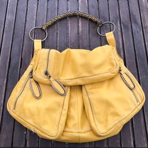 Stor lækker lædertaske