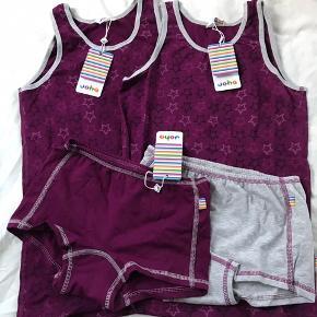Lækkert Joha undertøj - undertrøje og hipsters, str 150 (146/152). Stadig med mærke.   Mp 80pp for et sæt eller 150pp for begge