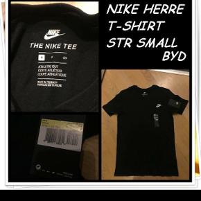 Nike herre t-shirt str small nyt byd