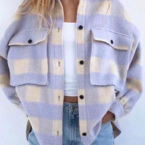 Fleecejakke skjorte kan bruges som overgangsjakke