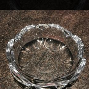 Holmegaard Lotus glasskål Ø18cm uden skår 6700/Rørkjær