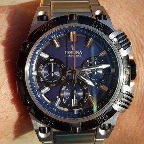 Helt nyt Festina ur. I original æske og værdibevis/stempel  Se de andre ure jeg har også!