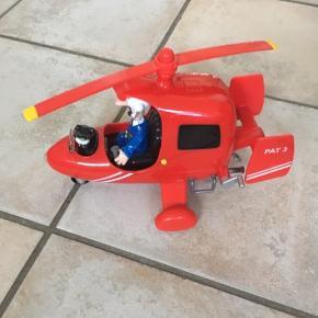 Helikopter med Postmand Per. Med lyd.