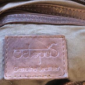 Lækker lædertaske