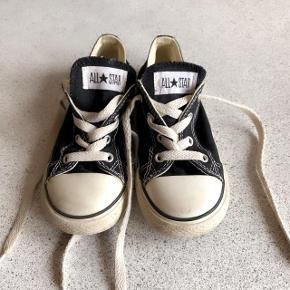 Converse sorte sneakers str 26