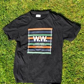 Den er temmeligt slidt på trykket, men ellers en rigtig lækker T-shirt!