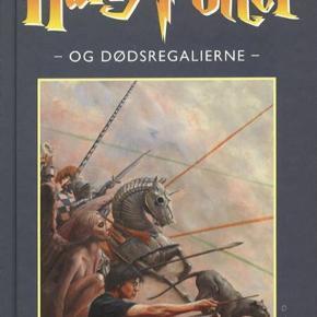 SØGER!!!!   Søger denne bog: Harry Potter og dødsregalierne  Hardback