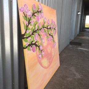 Maleri af undertegnet. Måler 80x80 og pris er til forhandling. Har solgt et maleri før. Afhentes i KBH NV