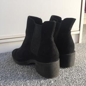 Ruskind ankelstøvler