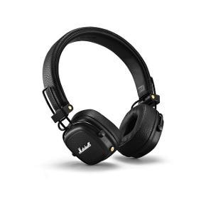 Marshall major 3 trådløse on Ear hovedtelefoner  Er brugt meget lidt Np: mellem 700-900kr Bluetooth hovedtelefoner Der hører også en ledning til