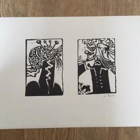 Linoleumssnit af John Ravn  Signeret i bly: J. Ravn  Udgivet i 1971  Størrelse: H: 26 cm.  B: 38 cm.   Sender gerne...  Se også mine andre annoncer med original kunst af anerkendte kunstnere.   Masser af kunst på lager.   Tilbyder også indramning med passe partout til meget rimelige priser.