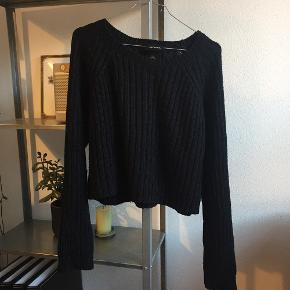 Fin strikket sweater 🌸