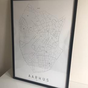 Aarhus plakat fra enklamide. 50x70cm