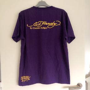 Ed Hardy lilla tshirt str L
