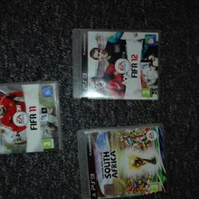 Jeg ha r 3 stk. Superflotte FIFA spil til playstation 3 som jeg gerne vil sælge. Prisen kan forhandles.varen kan sendes- køber betaler fragt