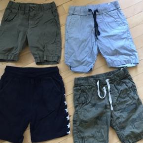 Str. 110-116 4 par shorts kun 50kr