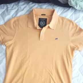 Sacoor Brothers never worn large slim fit salmon polo shirt