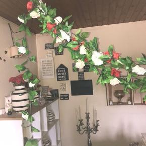 Blomster  2 røde  1 hvid  1 champagne  20kr pr styk