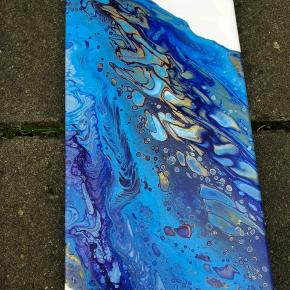 Originale malerier. Størrelse:20x60cm.  Samlet pris: 400kr Pris pr stk: 250kr