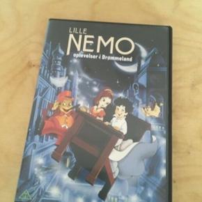 Lille Nemo oplevelser i drømmeland dvd  -fast pris -køb 4 annoncer og den billigste er gratis - kan afhentes på Mimersgade 111 - sender gerne hvis du betaler Porto - mødes ikke andre steder - bytter ikke