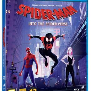 Spiderman into the spiderverse. Super fed film, Blu Ray, hentes i Thisted eller Aalborg. Kan sende med post på købers regning.  Org pris 129kr #marvel #spiderman #animation