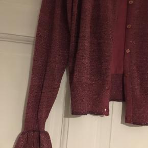 Lyserød/lilla cardigan - som ny 🧥