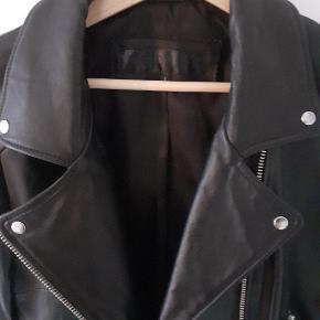 Lækker jakke i det blødeste skind Str. L