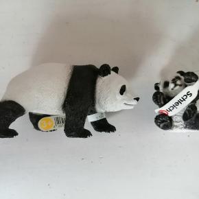 Schleich panda og unge