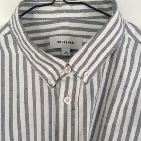 Lækker Soulland skjorte  Perfekt stand  Nypris: 1.000kr