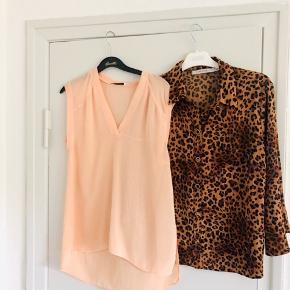 Alexander Wang top i rosa 350 kr  Gestuz leopard skjorte 300 kr   Skriv endelig ved flere spørgsmål  Se også mine andre annoncer 🌼