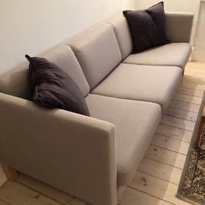 3-pers. Søren Lund sofa. fejler absolut intet skriv for flere billeder! Kan hentes ASAP!  Farve : grå meleret uld   Mål: L105 D80 H70