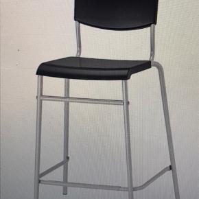 Barstol fra IKEA. Jeg har to forskellige. En der er H 73 cm og en H 63 cm. BYD