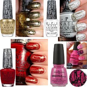 Brand: OPI & China Glaze Varetype: NY Shatter lak crack nail neglelak 3 stk. for 100 kr. - eller 50 kr. stk. Størrelse: 15 + 14 ml Farve: Guld/Hvid/Rød/Pink  NL E60,  NL E54, NL E55, 982 Oprindelig købspris: 125 kr. Nye & ubrugte shatter lakker (crack nails) fra OPI & China Glaze - 3 for 100 kr. eller 50 kr. pr. stk. Jeg har kun 1 stk. af hver - men skal have sorteret ud i mine lakker - så har en masse andre nye & ubrugte som sælges til 25-50 kr. stk.  Kan evt. sende fotos nr. navne på de andre som kan mixes med i dette tilbud til 100 kr. for 3 stk. Guld.: OPI Gold Shatter NL E60 Hvid.: OPI White Shatter NL E54 Rød.: OPI Red Shatter NL E55  Pink.: China Glaze 982 Broken Hearted 81055 Fragt.:   Kan afhentes Taastrup eller sendes som DAO pakke til selvafhentning i pakkeshop for 33 kr.