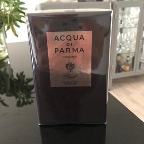 """Helt ny og uåbnet Acqua Di Parma """"Oud"""" Eau de Cologne. Stadig i celofan indpakning.  Nypris 1700,- kr.  Kom med et bud."""