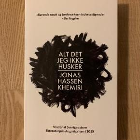 Alt det jeg ikke husker. Jonas Hassen Khemiri.  Paperback. Forlag: Gyldendal