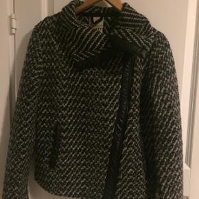 Style Dk 26 14.330% uld Læder detaljer Ingen slitage Bud modtages