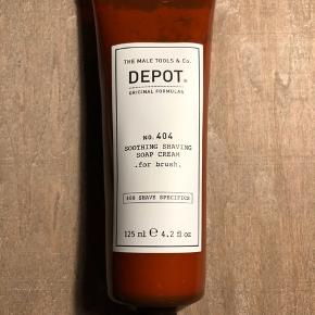 Ny og uåbnet  Depot No. 404 Soothing Shaving Soap Cream 125 ml