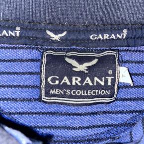 Vintage / retro polo fra Garant med lynlås