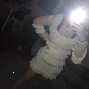 Flot hvid kjole fra Forever 21🤍 Perfekt til fest, fin begivenhed eller bare en skøn sommerdag😃 Jeg synes selv den er rigtig fin men får den aldrig brugt.   🖤 - Bytter ikke 🖤- Fragt betales selv 🖤 - Altid åben overfor BUD 🖤- Ikke ryger hjem // Ingen dyr 🖤 - Køb af flere ting = mængderabat