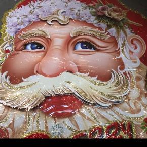 Stor flot julemandsophæng til indenfor , i original emballage , fra ikke ryger hjem.