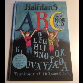 Bog med musik cdHalfdans ABC NSN