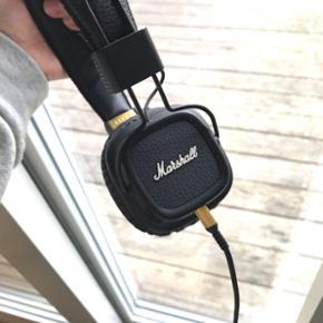 Marshall høretelefoner - nærmest som nye, fejler absolut ingenting