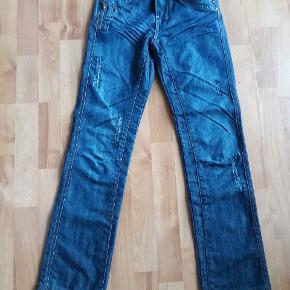 Jeans fra Entry str 164/ 13-14år,  brugt få gange, 20kr