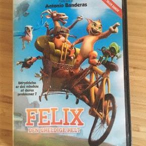 Felix den uheldige helt dvd - fast pris -køb 4 annoncer og den billigste er gratis - kan afhentes på Mimersgade 111 - sender gerne hvis du betaler Porto - mødes ikke ude i byen - bytter ikke