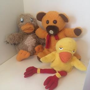 Bamse, kylling og ælling bamser